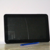 Large tablet for sale with a cracked screen