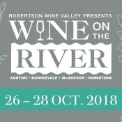 WINE ON THE RIVER - 26 - 28 OCT 2018